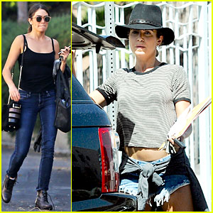 Nikki Reed Steps Out After Derek Hough Hookup Rumors