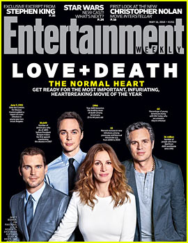 Normal Heart's Matt Bomer, Julia Roberts & More Take EW's Latest Cover