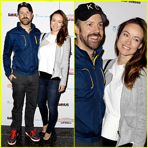 Olivia Wilde & Jason Sudeikis Smile Wide for 'Supermensch'
