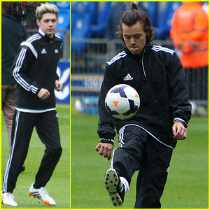 One Direction Plays Charity Soccer Game for Irish Autism Action!