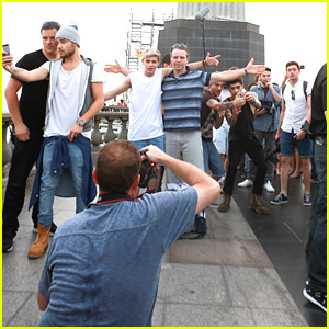 One Direction: Selfies At Christ The Redeemer Statue in Brazil!