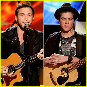 Phillip Phillips & Sam Woolf Rock Out on 'Idol' Finale! (Video)