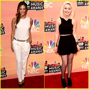 Pia Toscano & Bea Miller - iHeartRadio Music Awards 2014