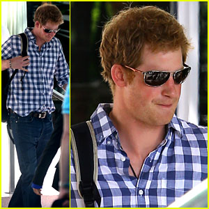 Prince Harry Parties in Miami Ahead of His Friend's Wedding