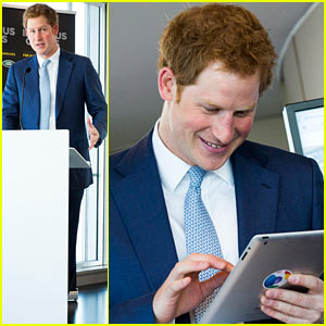 Prince Harry Sends His First Tweet Ever - Find Out What He Wrote