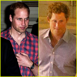 Prince William & Prince Harry Dine in Memphis Ahead of Friend's Wedding!