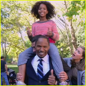 Quvenzhane Wallis & Jamie Foxx Are a Dynamic Duo in New 'Annie' Remake Trailer - Watch Now!