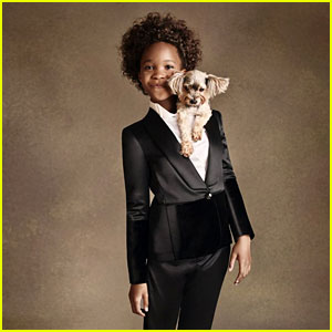 Quvenzhane Wallis is Officially the New Face of 'Armani Junior'!