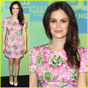 Rachel Bilson Brings Some 'Hart' to the CW Upfronts 2014!