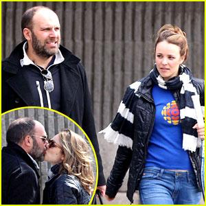 Rachel McAdams Kisses Boyfriend Patrick Sambrook - Photos!