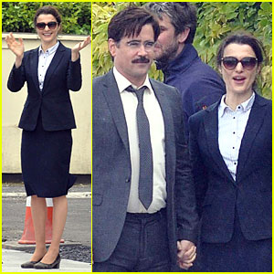 Rachel Weisz & Colin Farrell Hold Hands For 'The Lobster'!
