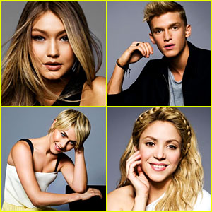 Shakira, Julianne Hough, & More Take Over JJ's Radio Disney Music Awards Portraits!