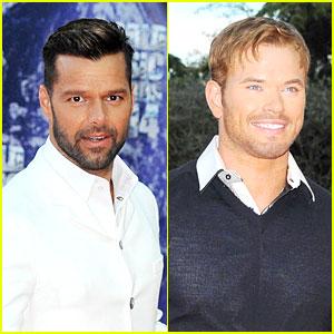 Ricky Martin & Kellan Lutz Look So Handsome at World Music Awards!