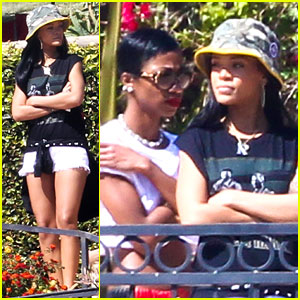 Rihanna Goes House Hunting in Malibu with BFF Melissa Forde!