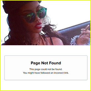 Rihanna's Instagram Account Appears to Have Been Deleted!