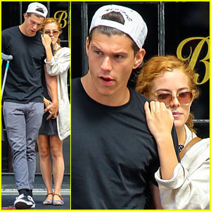 Riley Keough & Ben Smith-Petersen Keep Cozy & Look Cute in NYC