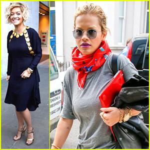 Rita Ora Says Dressing Up Is Fun!