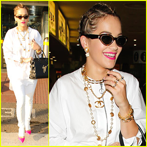 Rita Ora Can't Wait to Perform at Budweiser Made In America Festival 2014