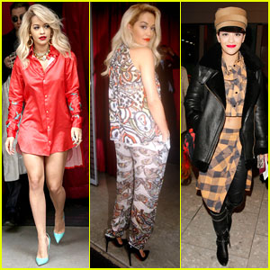 Rita Ora Shows Off Her Amazing Fashion Sense in Paris!