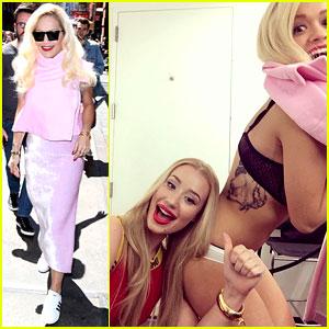 Rita Ora Strips Down Next to Gal Pal Iggy Azalea - See the Pic!
