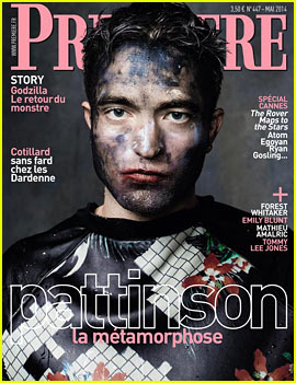 Robert Pattinson is All Covered in Paint for 'Premiere' Magazine
