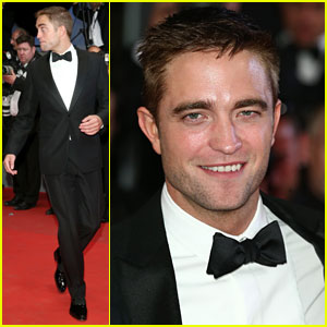 Robert Pattinson Dons a Dapper Suit for 'The Rover' Cannes Premiere!