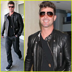 Robin Thicke's Film Debut 'Making the Rules' Hits DVD May 6th!
