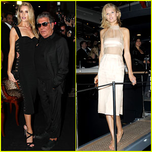 Rosie Huntington-Whiteley & Toni Garrn Are Cavalli's Beautiful Blondes in Cannes!