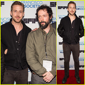 Ryan Gosling is Super Handsome for 'White Shadow' Premiere!