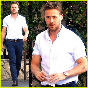Ryan Gosling Pretty Much Always Looks Perfect - See the New Photos!