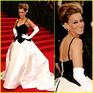 Sarah Jessica Parker Kicks Off the Red Carpet at Met Ball 2014!