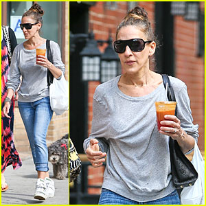 Sarah Jessica Parker Is Tickled To Be On 'Vogue's Top Fashion Moments of the Week!