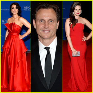 Bellamy Young & Tony Goldwyn Have a Scandalous Presence at White House Correspondents' Dinner 2014