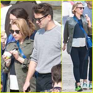 Scarlett Johansson Has Sweet Pregnancy Cravings in Paris!