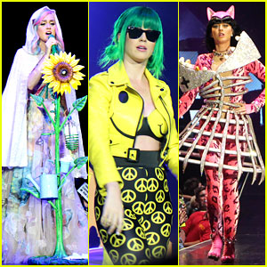 See ALL of Katy Perry's Crazy 'Prismatic Tour' Costumes Here!
