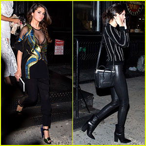 Selena Gomez & Kendall Jenner Attend Same Party Following Feud Rumors