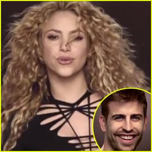 Gerard Pique Cameos in Shakira's 'La La La (Brazil 2014)' Music Video - Watch Now!