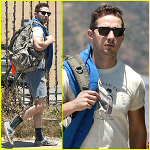 Shia LaBeouf Gets Haircut & Beard Shaved Off - See the Pics!