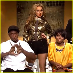 Solange & Jay Z Elevator Video Gets Audio Courtesy of 'SNL'!