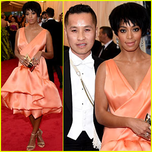 Solange Knowles Debuts Pixie Hairdo at Met Ball 2014