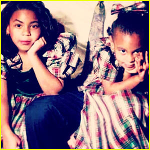 Solange Knowles Shares #TBT Picture of Her & Young Beyonce in Wake of Jay Z Elevator Scandal