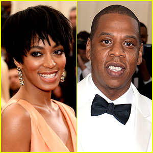 Solange Knowles Violently Attacks Jay Z - See the Crazy Video