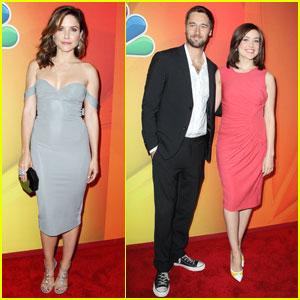 Sophia Bush & 'Blacklist' Stars Promote Shows at NBC Upfronts!