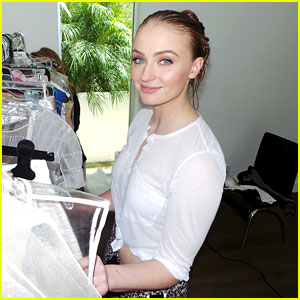 Sophie Turner Earns Her Throne for JJ Spotlight! (Behind the Scenes Photos)