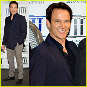 Stephen Moyer Attends 'Devil's Knot' Premiere After Joining Twitter!