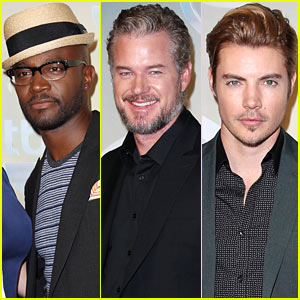 Taye Diggs & Eric Dane Bring the Sexy Factor to TBS/TNT Upfront 2014