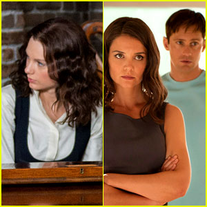 Taylor Swift & Alexander Skarsgard in 'The Giver' - First Look Photos! (Exclusive)