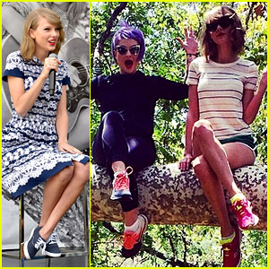 Taylor Swift Climbs Trees with Kelly Osbourne Upon West Coast Return!