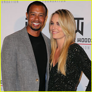 Tiger Woods & Lindsey Vonn Party in Vegas at Tiger Jam Rocks!