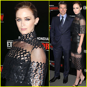 Tom Cruise & Emily Blunt Premiere 'Edge of Tomorrow' in Second Premiere of the Day!